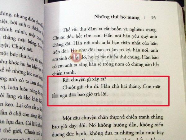 Sách dịch về cuộc chiến tranh Việt Nam chứa ngôn từ tục tĩu 2