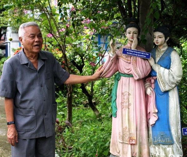 Độc đáo biệt thự Vườn Kiều độc nhất Việt Nam của cụ ông 81 tuổi 6
