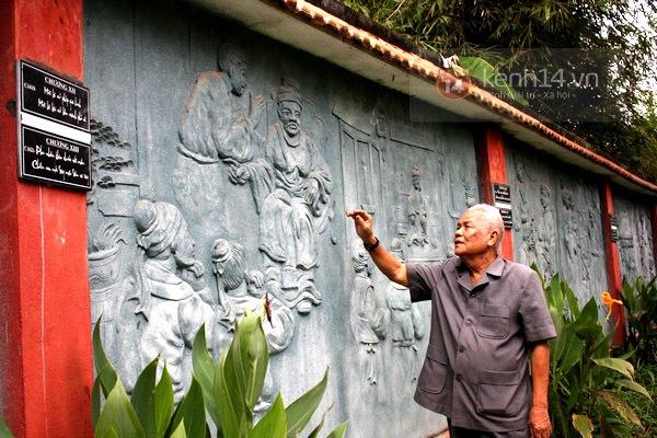 Độc đáo biệt thự Vườn Kiều độc nhất Việt Nam của cụ ông 81 tuổi 5