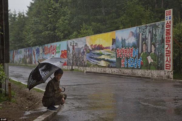 Những hình ảnh chưa từng chứng kiến về vùng nông thôn Triều Tiên 3