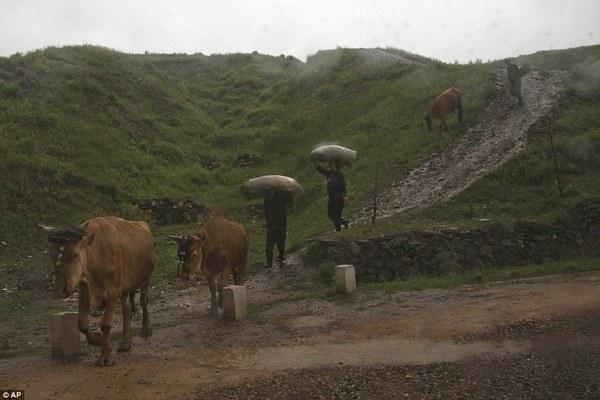 Những hình ảnh chưa từng chứng kiến về vùng nông thôn Triều Tiên 7