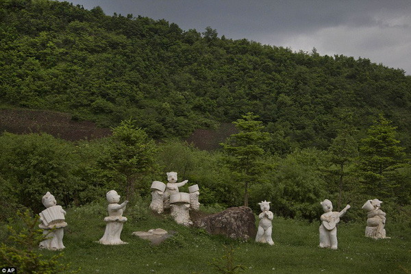 Những hình ảnh chưa từng chứng kiến về vùng nông thôn Triều Tiên 13