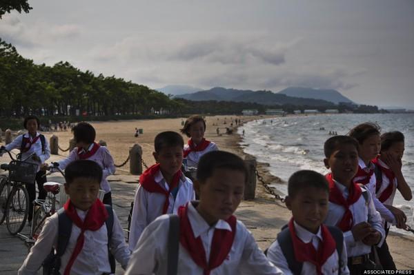 Những hình ảnh chưa từng chứng kiến về vùng nông thôn Triều Tiên 14