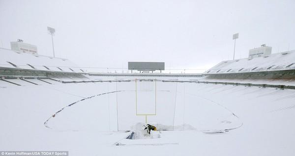 Chùm ảnh nước Mỹ đóng băng trong lớp tuyết dày không tưởng 18