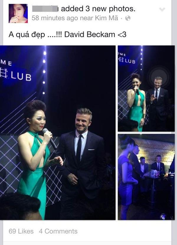Cư dân mạng rào rào chia sẻ ảnh được gặp David Beckham  6
