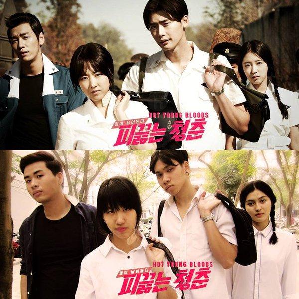 Sinh viên Hà Nội chế poster những bộ phim Hàn nổi tiếng 5