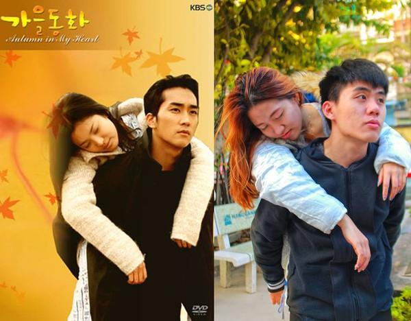 Sinh viên Hà Nội chế poster những bộ phim Hàn nổi tiếng 7