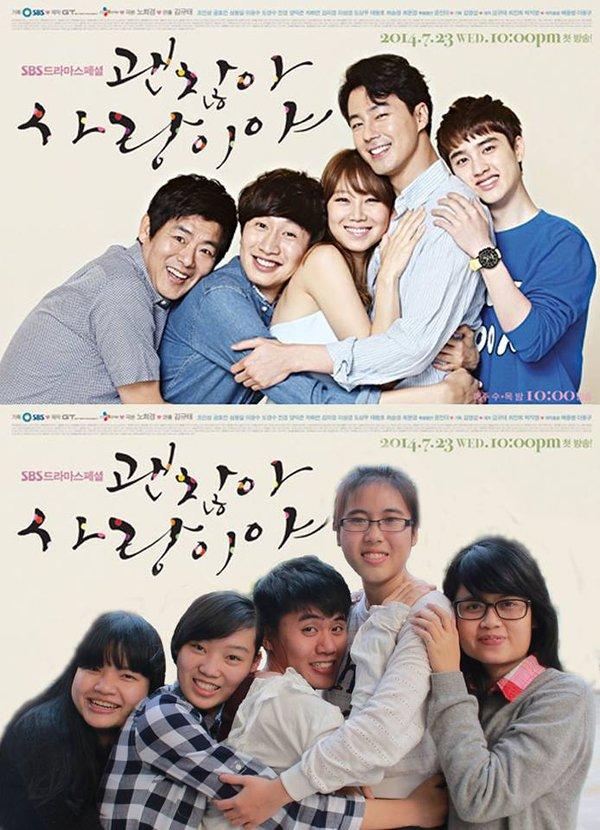 Sinh viên Hà Nội chế poster những bộ phim Hàn nổi tiếng 9