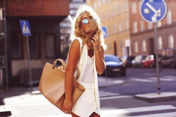 """Skort - Chiếc quần """"tràn ngập"""" street style thế giới Hè 2013 20"""