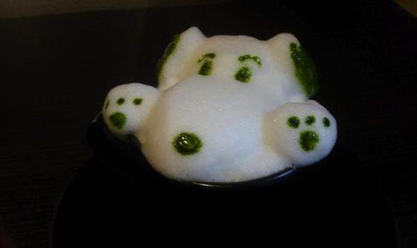 """Những tác phẩm 3D nghệ thuật siêu """"cute"""" được thể hiện từ trà xanh 6"""