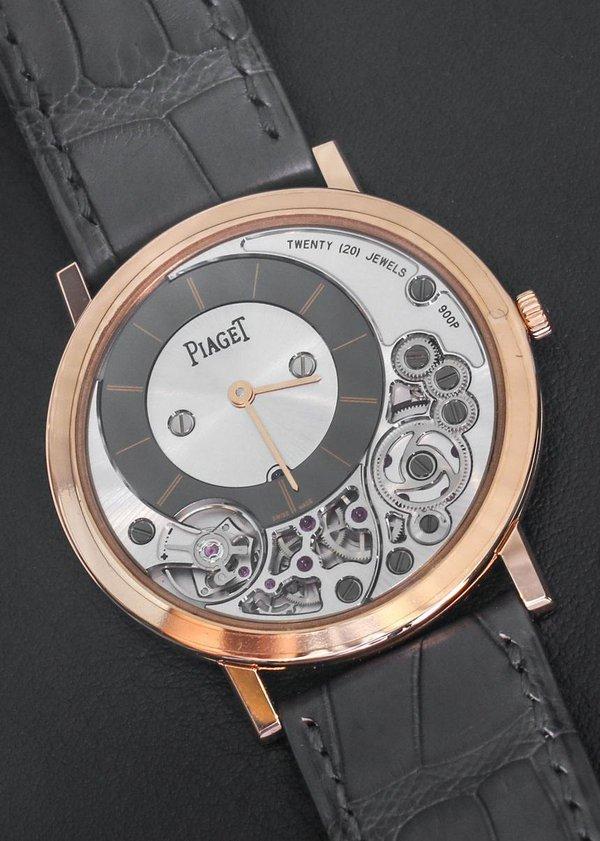 Piaget Altiplano 900P: Đồng hồ đeo tay mỏng nhất thế giới 1
