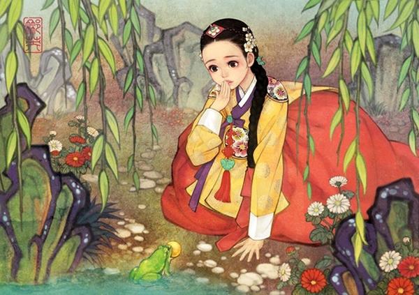 Khi những nàng công chúa Disney là... người Hàn Quốc 5