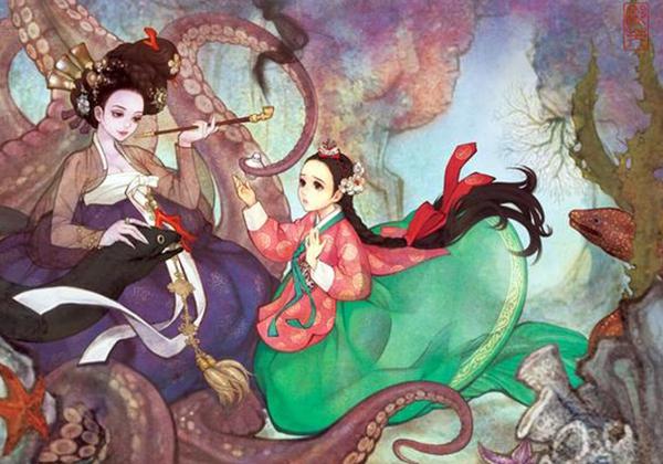 Khi những nàng công chúa Disney là... người Hàn Quốc 9