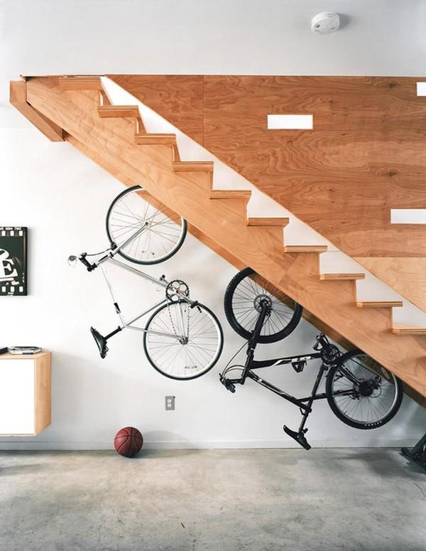 16 ý tưởng tân trang gầm cầu thang đầy bất ngờ và thú vị 15