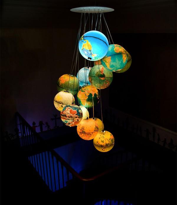 """Tổng hợp 18 ý tưởng sáng tạo đèn chùm """"độc nhất vô nhị"""" 16"""