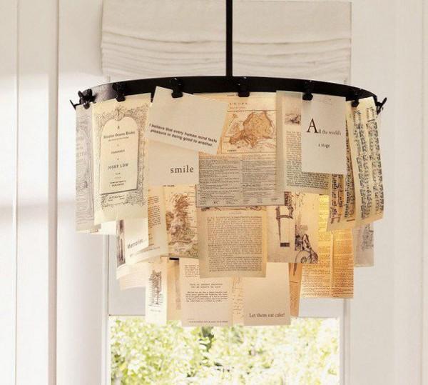 """Tổng hợp 18 ý tưởng sáng tạo đèn chùm """"độc nhất vô nhị"""" 8"""