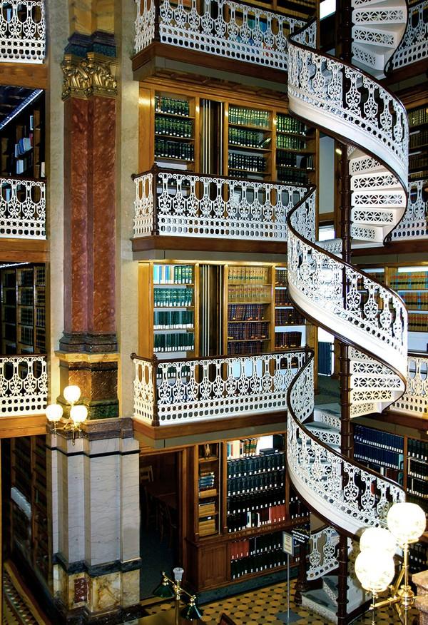 Chiêm ngưỡng những thư viện hoành tráng và đẹp mắt nhất thế giới 22