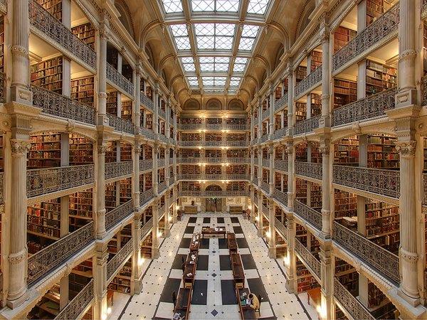 Chiêm ngưỡng những thư viện hoành tráng và đẹp mắt nhất thế giới 9