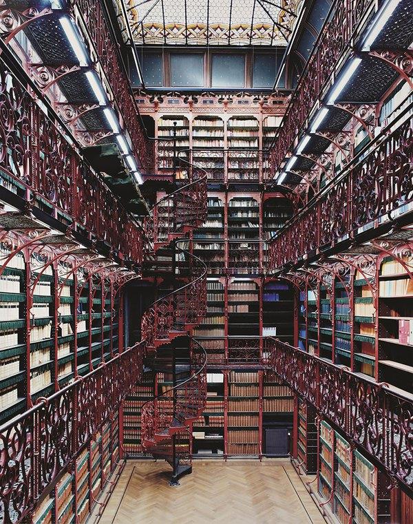 Chiêm ngưỡng những thư viện hoành tráng và đẹp mắt nhất thế giới 8