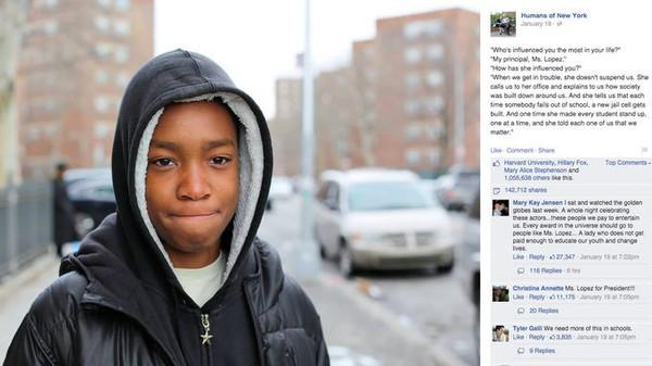 """Người sáng lập """"Humans of New York"""" quyên góp được gần 1 triệu USD chỉ nhờ 1 bức ảnh 1"""
