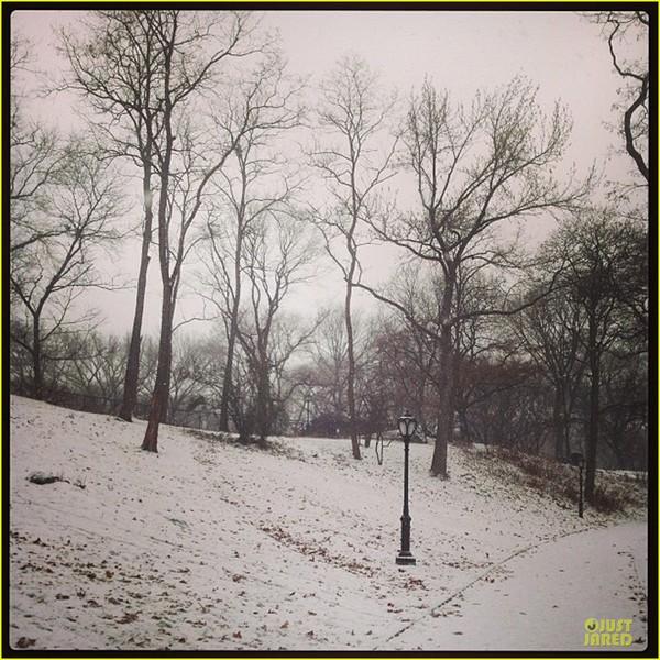 Bé Flynn Bloom biểu cảm cực dễ thương khi thấy tuyết 9