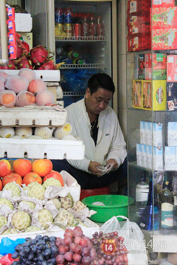 Người Hà Nội xếp hàng mua bánh trôi bánh chay trong cái rét nàng Bân 17