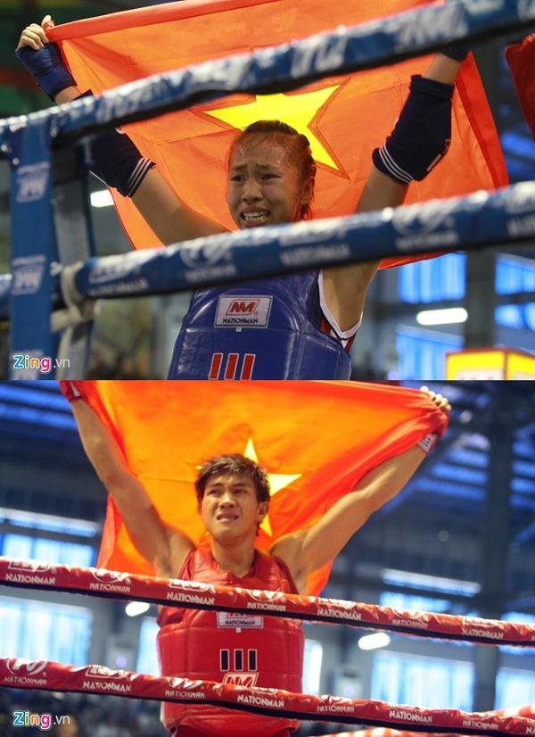Đương kim vô địch thế giới Muay Thái khóc hận vì thua... trọng tài Sea Games 4