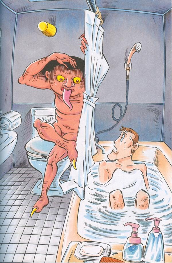 Đi tìm quái vật nhà tắm buổi đêm ở Nhật Bản 9