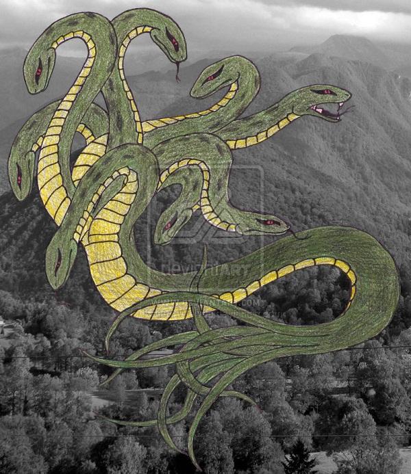 Huyền thoại quái vật rắn 8 đầu 8 đuôi ở Nhật Bản 1