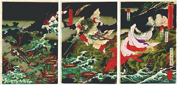 Huyền thoại quái vật rắn 8 đầu 8 đuôi ở Nhật Bản 5