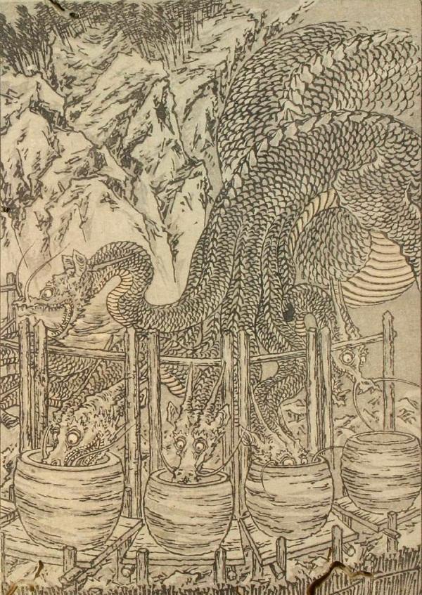 Huyền thoại quái vật rắn 8 đầu 8 đuôi ở Nhật Bản 8