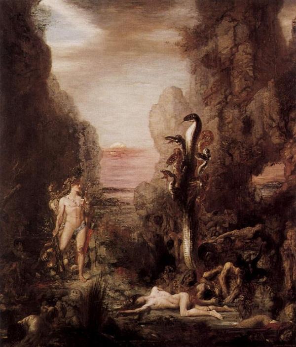 Đi tìm quái vật rắn trong thần thoại Hy Lạp 1