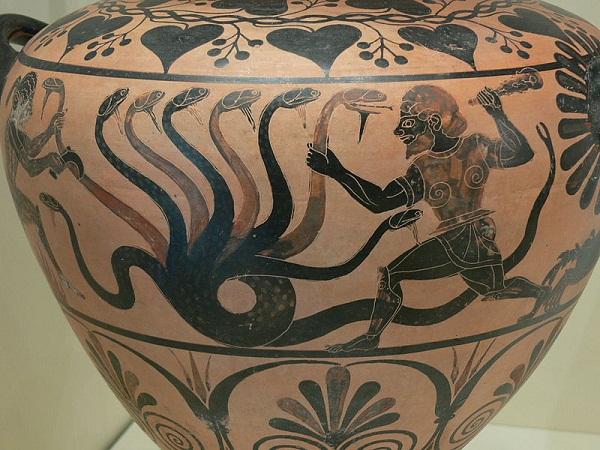 Đi tìm quái vật rắn trong thần thoại Hy Lạp 2