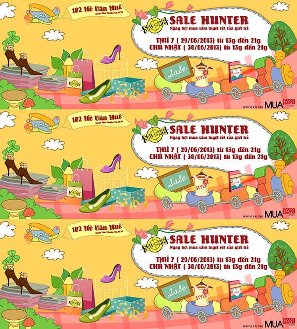 Săn hàng giá rẻ cuối tuần - Phiên chợ Sale Hunter 29/6 và 30/6 1