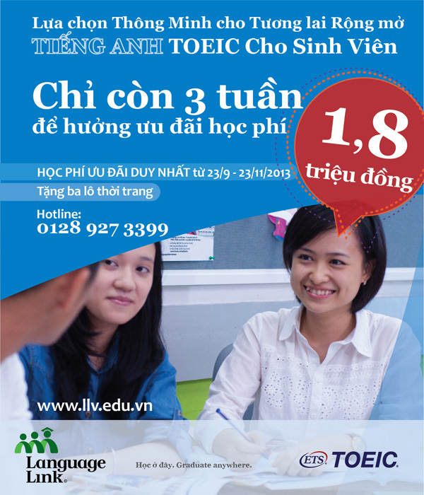 Tiếng Anh TOEIC cho sinh viên - Lợi thế khi tuyển dụng 1
