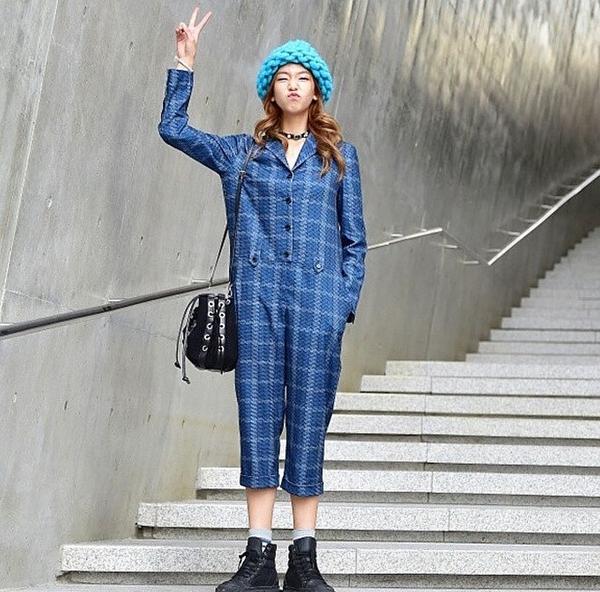 """Giới trẻ Hàn """"sốt"""" với chiếc mũ beanie sợi to ngộ nghĩnh 8"""