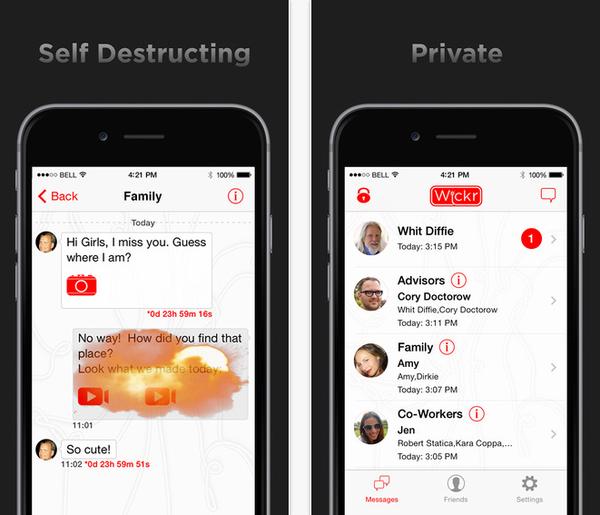 10 ứng dụng nhắn tin siêu bảo mật cho smartphone 1