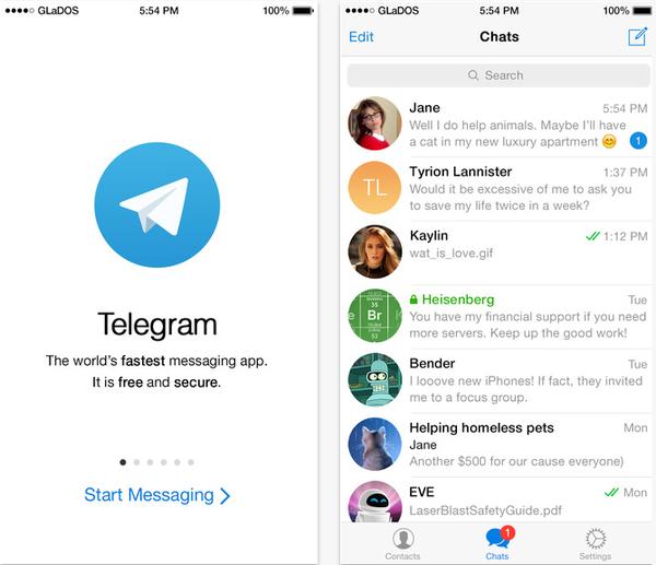 10 ứng dụng nhắn tin siêu bảo mật cho smartphone 2