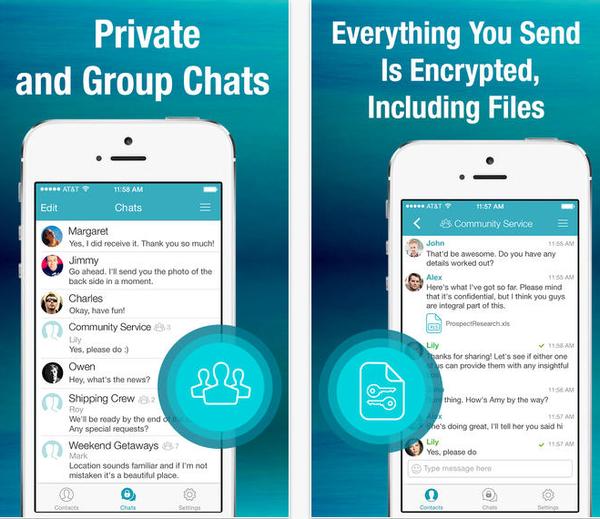 10 ứng dụng nhắn tin siêu bảo mật cho smartphone 7