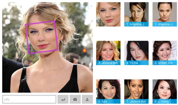 Website thú vị giúp bạn tìm ra người nổi tiếng giống mình nhất 1