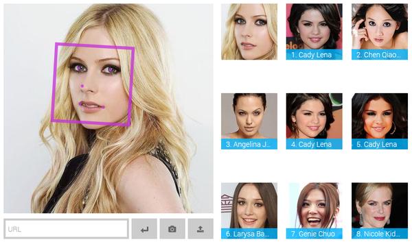 Website thú vị giúp bạn tìm ra người nổi tiếng giống mình nhất 2