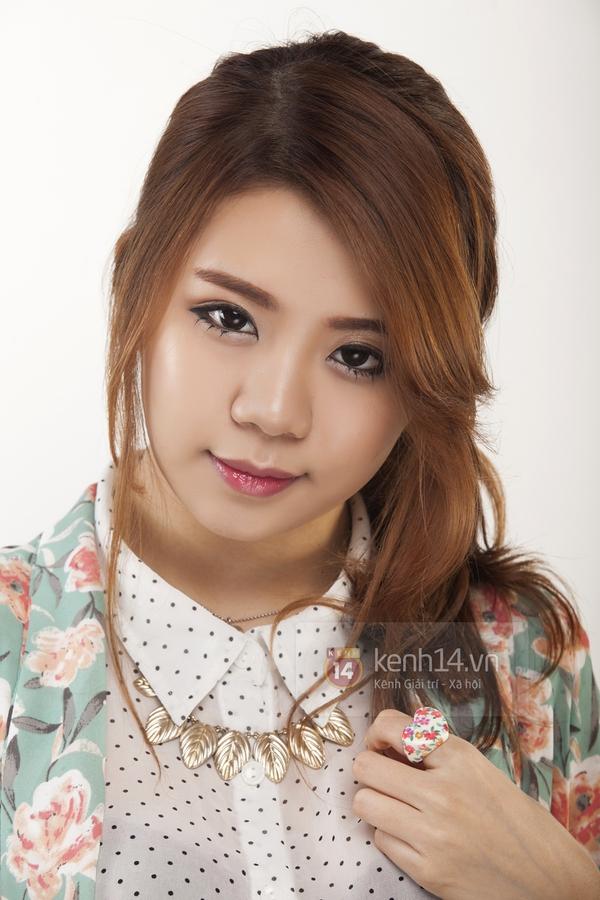 """Cùng Hạt Mít make up theo style """"chuẩn"""" Hàn Quốc 11"""