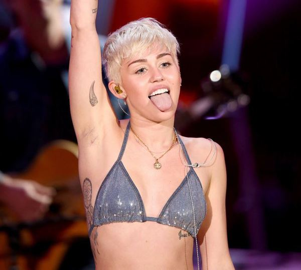 Miley Cyrus về cuối top 99 sao nữ được khao khát nhất 2014 1