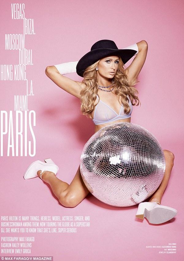 """Paris Hilton: """"David Beckham đến xem tôi chơi nhạc"""" 1"""