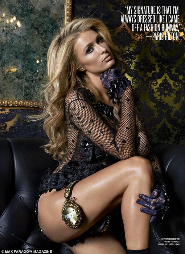 """Paris Hilton: """"David Beckham đến xem tôi chơi nhạc"""" 3"""