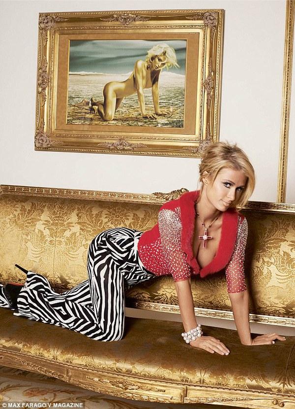 """Paris Hilton: """"David Beckham đến xem tôi chơi nhạc"""" 6"""