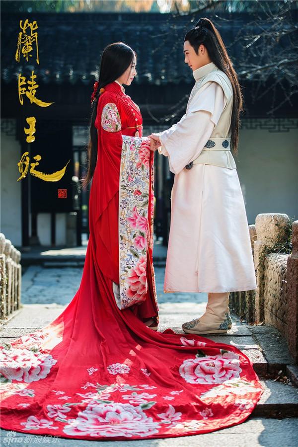Fan Trung lại phát sốt vì nhan sắc của Lan Lăng Vương xinh gái 14