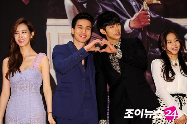 Lee Da Hae phủ nhận chuyện làm bản sao Chun Song Yi 6