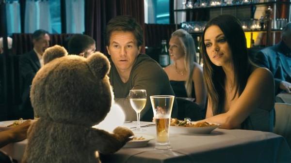 """""""Gấu bựa"""" Ted trở lại với mỹ nhân mới 2"""