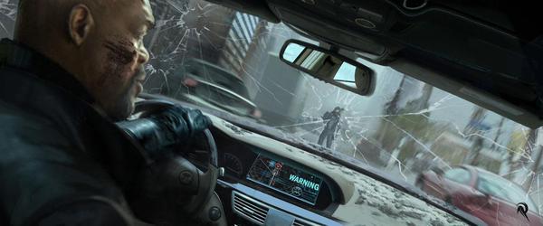Captain America được đồng đội cứu thoát trong gang tấc 8